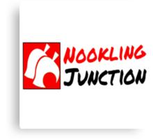 Nookling Junction Logo Canvas Print