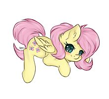 Fluttershy [Dreamy Chibi] Photographic Print