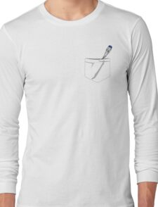 Doctor Who- Pocket Sonic Screwdriver (9th/10th) Long Sleeve T-Shirt