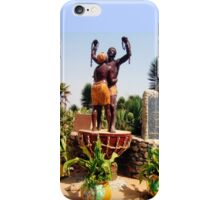 Statue Commemorating the Survivors of Slavery - Print iPhone Case/Skin