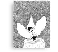 LITTLE GODDESS>>> Canvas Print