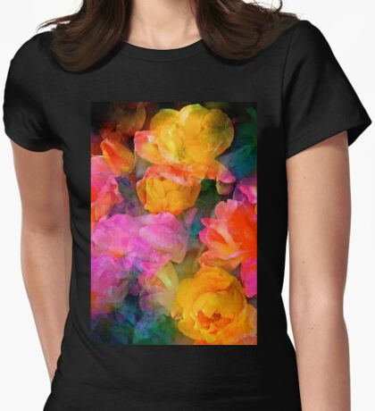 Rose 224 Womens Fitted T-Shirt