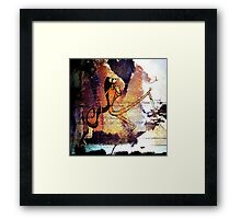 Romantus Distressed Collection: Giuliana Framed Print