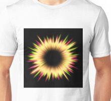 Light burst abstract design Unisex T-Shirt