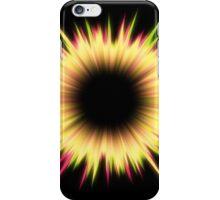 Light burst abstract design iPhone Case/Skin
