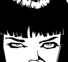 Pulp Fiction - Mia Wallace - God Damn Sticker
