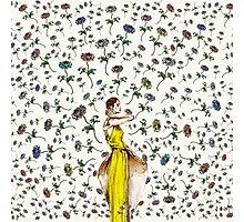 Paris Summer | The Flower Girl  Photographic Print