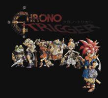 Chrono Trigger Main Cast Baby Tee
