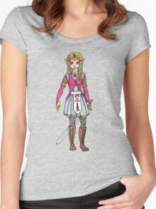 Warrior Princess Women's Fitted Scoop T-Shirt