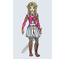 Warrior Princess Photographic Print