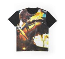 Romantus Distressed Collection: Scotch Graphic T-Shirt