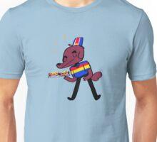 Weiner Dawg! (blue) Unisex T-Shirt