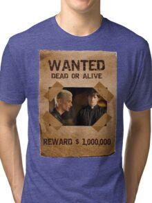 Buffy Spike and Caleb Wanted Tri-blend T-Shirt