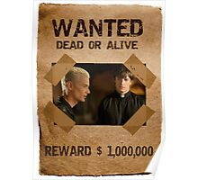 Buffy Spike and Caleb Wanted Poster
