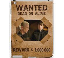 Buffy Spike and Caleb Wanted iPad Case/Skin