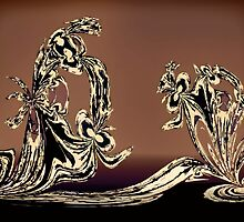 Sculpture in Bronze by Albert
