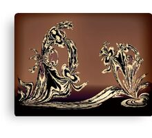 Sculpture in Bronze Canvas Print