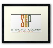 Sterling Cooper & Partners Framed Print