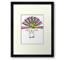 Royal Bunny Framed Print