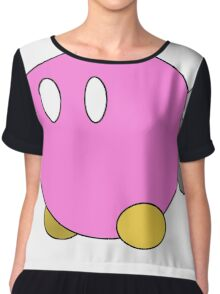 Paper Mario Style Pink Bob-Omb Chiffon Top