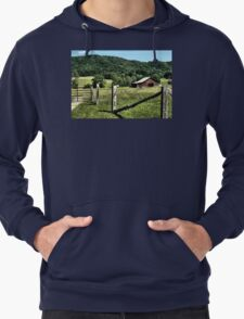 ON A FARMLAND FAR, FAR AWAY... Lightweight Hoodie