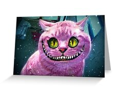 We're All Mad Here! Greeting Card