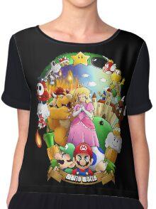 Composition - Mario world Chiffon Top