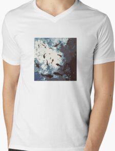 Fish School Deep Water Mens V-Neck T-Shirt