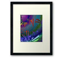Web of Life - An Organic Drawing  Framed Print