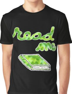 Read Me in Green Graphic T-Shirt