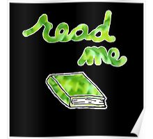 Read Me in Green Poster