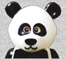 Cute Lego Panda Guy One Piece - Short Sleeve