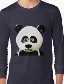 Cute Lego Panda Guy Long Sleeve T-Shirt