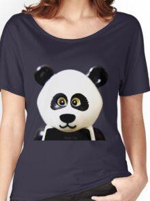Cute Lego Panda Guy Women's Relaxed Fit T-Shirt