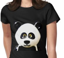 Cute Lego Panda Guy Womens Fitted T-Shirt