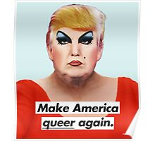 Make America Queer Again Poster