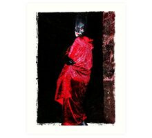 Red Undead Art Print