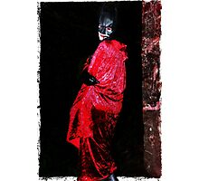 Red Undead Photographic Print
