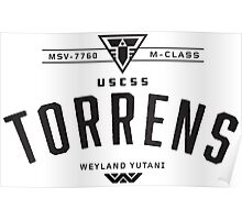 USCSS Torrens Poster