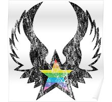 winged rainbow starz Poster