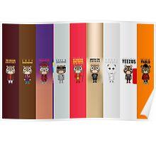 Kanye Bears Poster