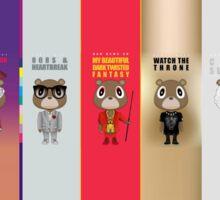 Kanye Bears Sticker
