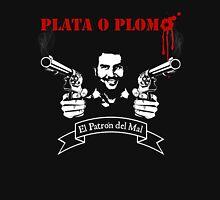 "PLATA O PLOMO ""Pablo Escobar"" Unisex T-Shirt"