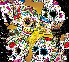 Sugar Skulls by creepyjoe