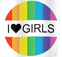 i heart girls Poster
