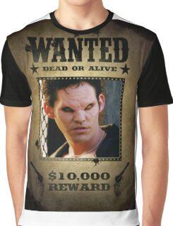 Buffy Xander Wanted 1 Graphic T-Shirt