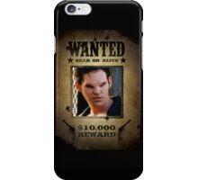 Buffy Xander Wanted 1 iPhone Case/Skin