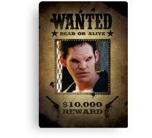 Buffy Xander Wanted 1 Canvas Print