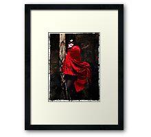 Vamp in the Dark Framed Print