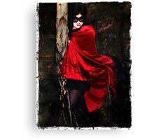 Vamp in the Dark Canvas Print